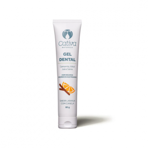 Gel Dental Laranja com canela